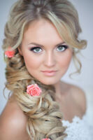 Bridal Hair & Makeup - Limited time offer - $120 (Home or Salon)