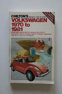 VOLKSWAGEN 1970-1981 Repair Guide Beetle Karmann Ghia Vanagon