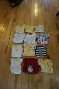 12 onesies 3 to 6 months