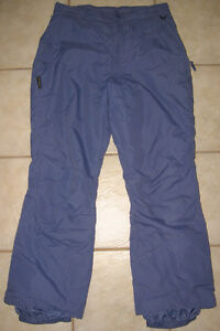 WOMEN'S COLUMBIA SNOW PANTS, SIZE LARGE (12-14)