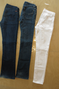 Jeans taille basse