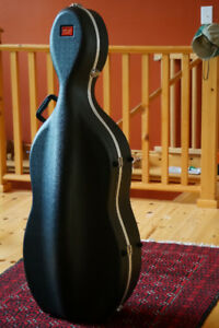 Stagg Moulded ABS Cello Case.