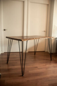 Live Edge Small Kitchen Table - Moving Sale