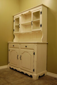 *FURNITURE/ hutches, dressers, any cabinets/ refinishing