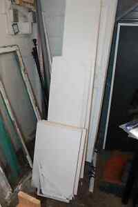 Closet Shelves, Hardware and Closet Doors FOR SALE