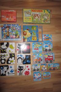 casses têtes pour enfants et livres,Djerco.../ jouets divers