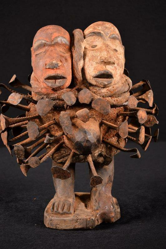 13988 A Rare Nkisi Statue DR Congo
