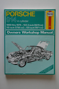 PORSCHE 914 1969-1976 Workshop Manual Haynes
