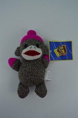 Sock Monkey Family Plush Stuffed Animal Mittens Brybelly Holdings Pink Hat 7