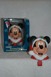 Mickey Mouse Christmas Stocking Hangers Crochets de bas de Noel