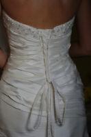 Robe de Mariee (gr 10) / Wedding dress (size 10)