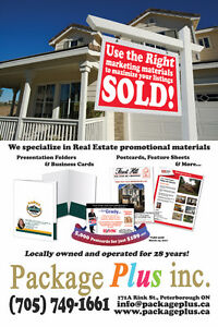 Use the RIGHT marketing materials and Get Your Listings SOLD!