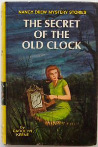 Two Nancy Drew Hard Cover Books includes BOOK ONE of Series!