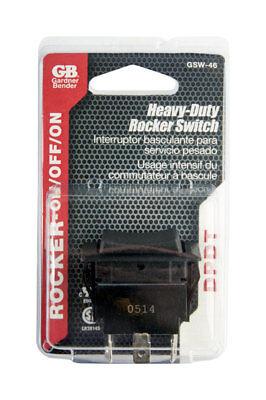 Gardner Bender Rocker Switch Dpdt