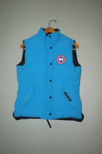Light Blue Canada Goose Vest