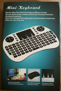 Brand New Mini Keyboard Remote for Android boxes etc...!!