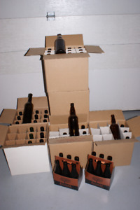Boxes of Beer and/or Cider Bottles