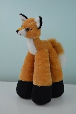 Bestever Funny Feet Fox Plush Stuffed Animal Toy Woodland Forest Creature 11