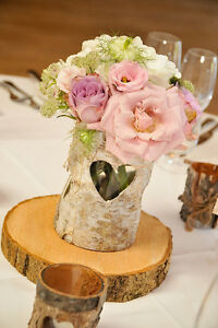 Rustic Wedding Decor--wood slices, cake stands.... Kitchener / Waterloo Kitchener Area image 3