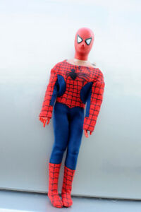 Vintage 1978 Mego Spiderman 12'' Figure and Spiderman Mobile