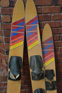 Wooden Water Rapid Skis Brighton Holdfast Bay Preview
