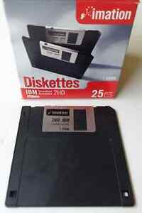 "BEST OFFER    13 New Sealed Imation 3.5"" Floppy Diskettes IBM"
