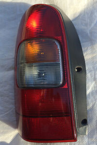 Left Passenger Rear Tail Lite Lamp Chevrolet VENTURE van
