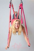 Hang Out While You Get Fit in Suspension Yoga