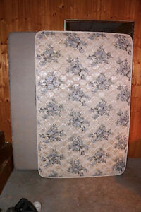 3/4 size Mattress and Box Spring