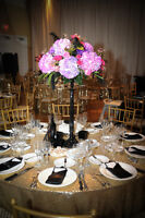 CENTREPIECES…..why buy when you can rent!!!
