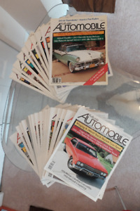 Automotive magazines. Old Cars, Collector Cars