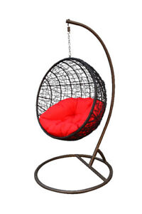 Hanging Patio furniture Chair Outdoor Indoor Egg Chair All Ages