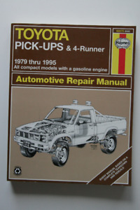TOYOTA PICK-UPS 4-RUNNER 1979-1995 Repair Manual Haynes