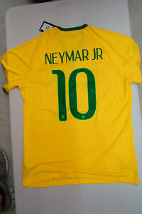 BRAZIL NEYMAR Soccer Jerseys! Best Quality! BRAND NEW WITH TAGS!