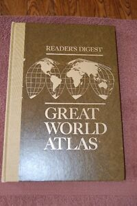 Reader's Digest Great World Atlas Cornwall Ontario image 1