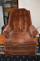 BROWN SWIVEL CHAIR | great condition!! | very comfortable!!