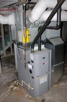 natural gas / propane furnace