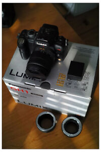 Infrared Panasonic GH-1 camera body