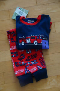 Fire Truck pajamas - new with tags - Size 5
