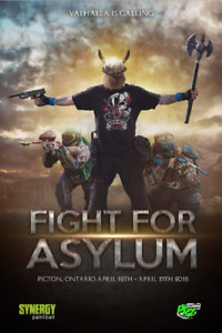 Fight for Asylum Paintball Event