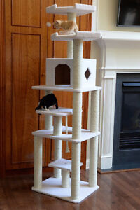 "CATTASTIC! 78"" CAT TREE SALE HST & FREE SHIP INCL CANADA"