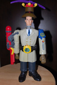 Inspector Gadget Mcdonald's Happy Meal Toy Complete