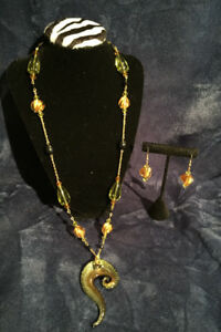 Handmade Necklace and Earrings Sets