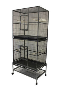 Double Stacked Flight Cage for bird and small animal