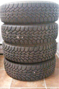 Four Goodyear Nordic Winter Tires for Sale - 175/65/R14