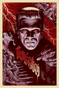 ... -Regular-Print-Martin-Ansin-Poster-Universal-Monsters-Mondo-Sold-Out