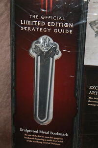 Diablo 3 Limited Edition Strategy Guide With Metal Bookmark West Island Greater Montréal image 3