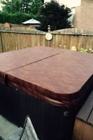 **HOT TUB COVER