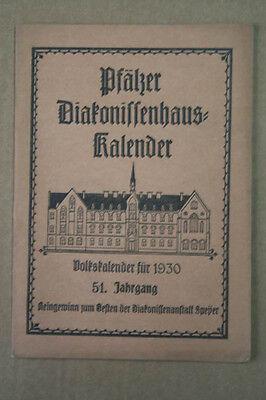 Pfälzer Diakonissenhaus-Kalender 1930