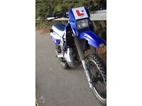 Yamaha dtr 2001 swap for a yzf wr ktm cbr 2012 or over